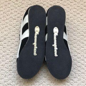 cfd8ebcb1a0b Champion Shoes - Champion black w white sneakers - BNWT - size 7